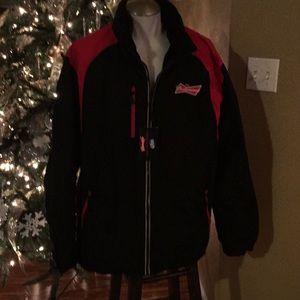 Budweiser two and one jacket Fleece jacket New 2x
